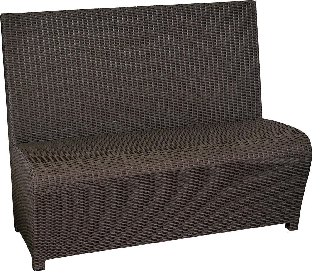 polyrattan sofa orlando 2 personen. Black Bedroom Furniture Sets. Home Design Ideas